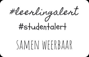 Logo Leerlingalert, Studentalert, Samen Weerbaar